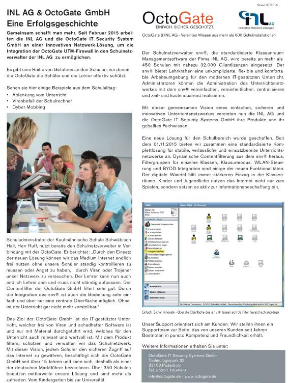 Schulfirewall.de • Octogate • Wlan Schule Komplettlösung • WiFi • Artikel